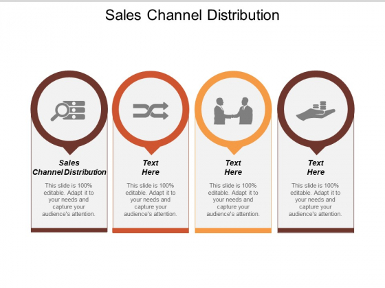 Sales Channel Distribution Ppt PowerPoint Presentation File Diagrams