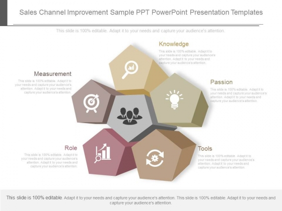 Sales Channel Improvement Sample Ppt Powerpoint Presentation Templates