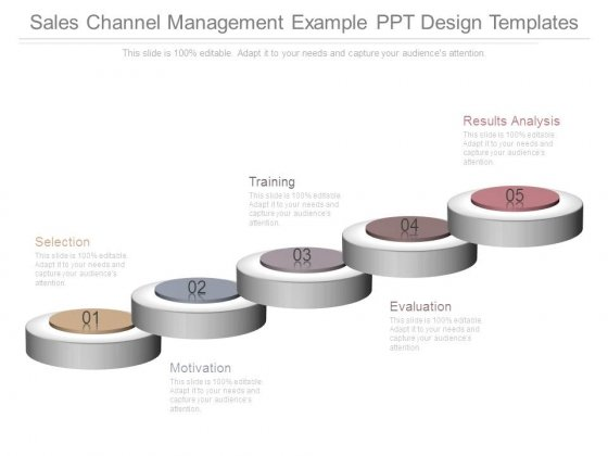Sales Channel Management Example Ppt Design Templates