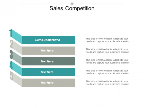 Sales Competition Ppt PowerPoint Presentation Model Maker Cpb