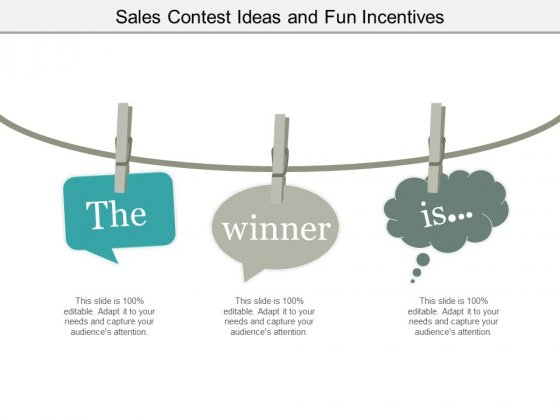 Sales Contest Ideas And Fun Incentives Ppt PowerPoint Presentation Inspiration Microsoft