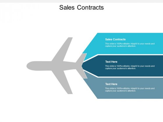 Sales Contracts Ppt PowerPoint Presentation Summary Example Introduction Cpb