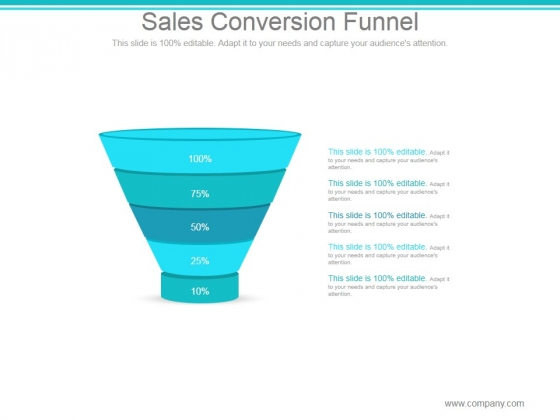 Sales Conversion Funnel Ppt PowerPoint Presentation Information