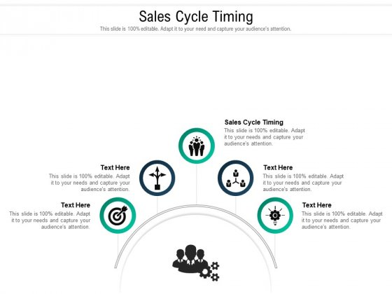 Sales Cycle Timing Ppt PowerPoint Presentation Portfolio Sample Cpb Pdf