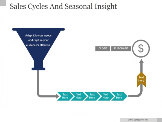 Sales Cycles And Seasonal Insight Ppt PowerPoint Presentation Designs