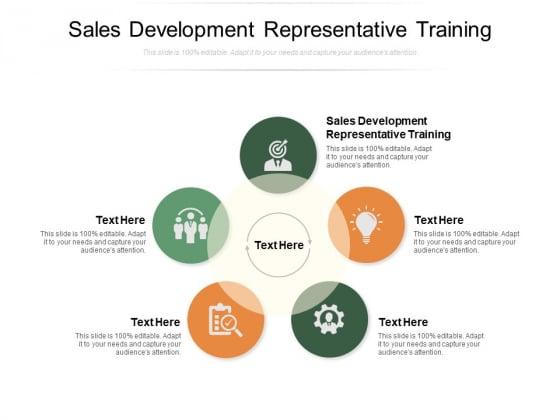 Sales Development Representative Training Ppt PowerPoint Presentation Model Portfolio Cpb