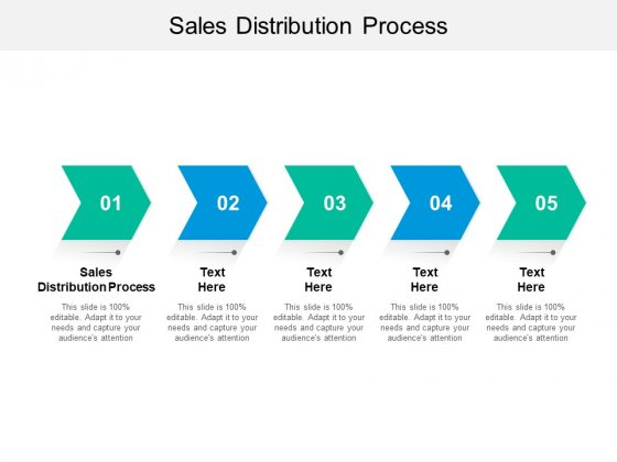 Sales Distribution Process Ppt PowerPoint Presentation Gallery Design Inspiration Cpb