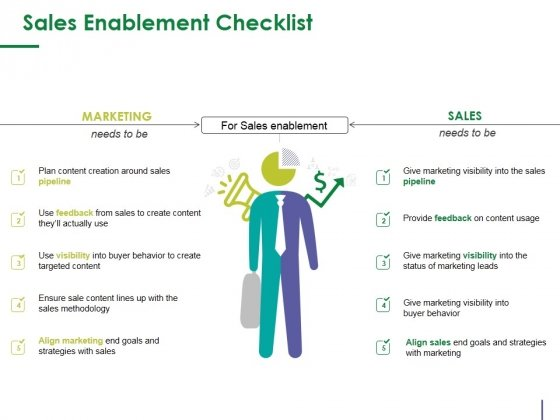 Sales Enablement Checklist Template 2 Ppt PowerPoint Presentation Layouts Layout Ideas