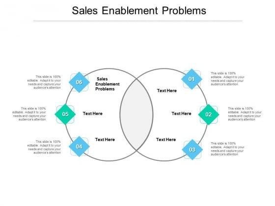 Sales Enablement Problems Ppt PowerPoint Presentation Slides Inspiration Cpb Pdf