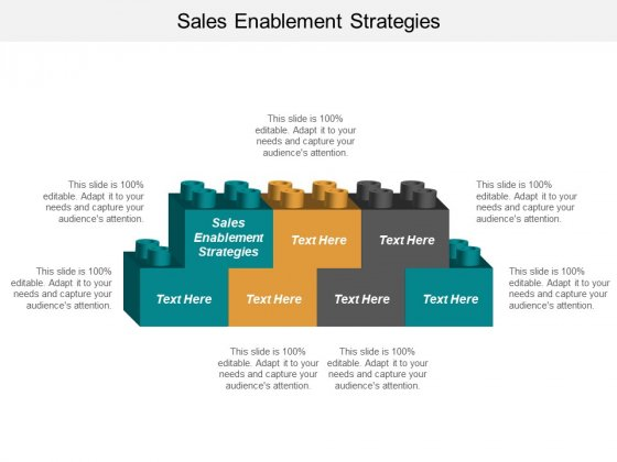 Sales Enablement Strategies Ppt PowerPoint Presentation Icon Layout Ideas Cpb