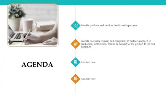 Sales Facilitation Partner Management Agenda Graphics PDF