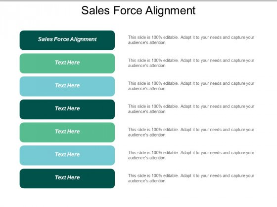 Sales Force Alignment Ppt PowerPoint Presentation Clipart Cpb