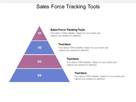 Sales Force Tracking Tools Ppt PowerPoint Presentation Ideas Structure Cpb
