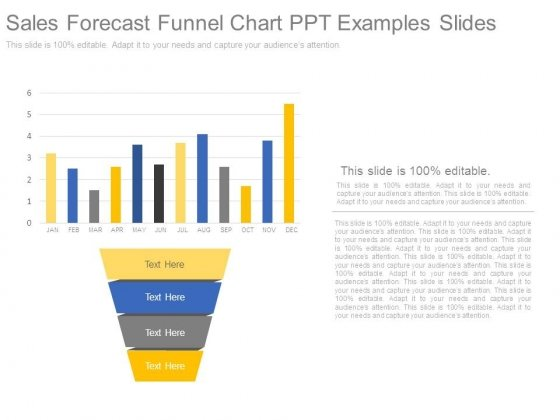 Sales Forecast Funnel Chart Ppt Examples Slides