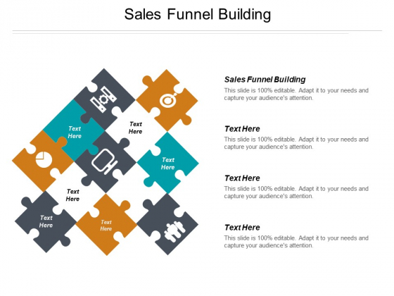 Sales Funnel Building Ppt PowerPoint Presentation Gallery Background Image