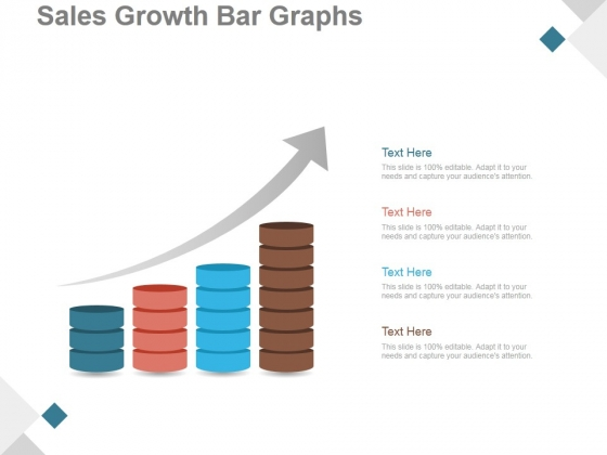 Sales Growth Bar Graphs Ppt PowerPoint Presentation Images