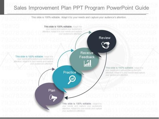 Sales Improvement Plan Ppt Program Powerpoint Guide