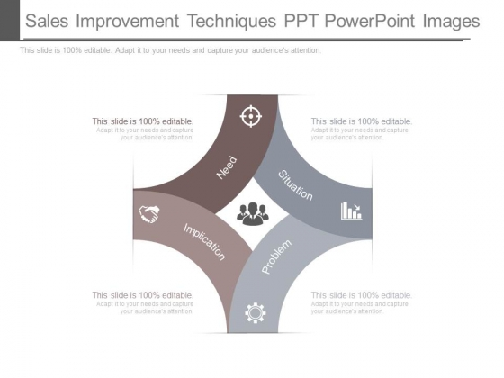 Sales Improvement Techniques Ppt Powerpoint Images