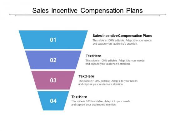 Sales Incentive Compensation Plans Ppt PowerPoint Presentation Slides Inspiration Cpb