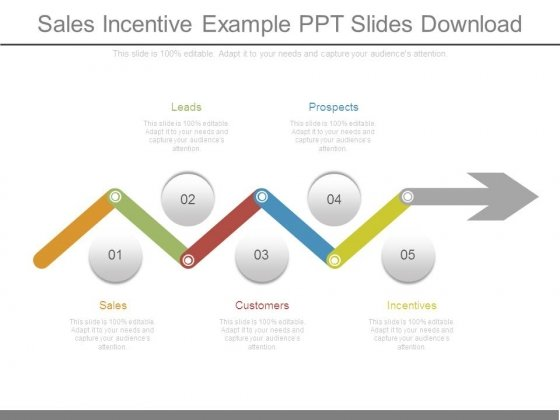 sales incentive example ppt slides download powerpoint templates