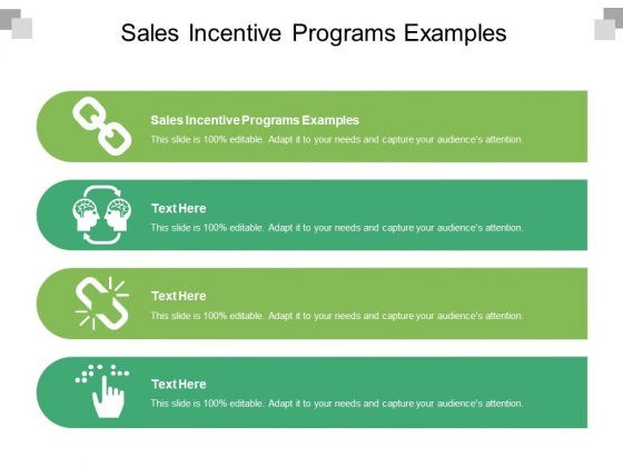 Sales Incentive Programs Examples Ppt PowerPoint Presentation Layouts Diagrams Cpb Pdf