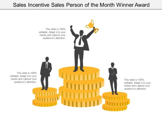 Sales Incentive Sales Person Of The Month Winner Award Ppt PowerPoint Presentation Icon Inspiration