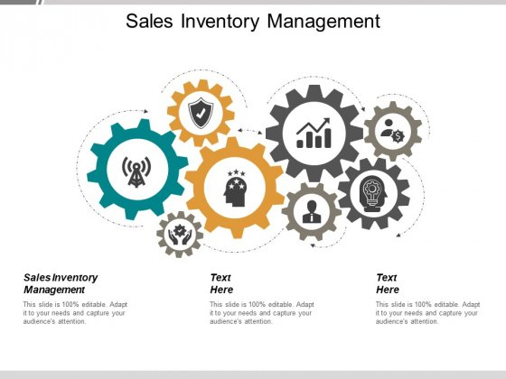 Sales Inventory Management Ppt PowerPoint Presentation Icon Picture