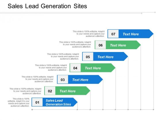 Sales Lead Generation Sites Ppt PowerPoint Presentation Gallery Visual Aids Cpb