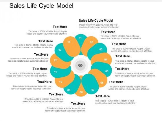 Sales Life Cycle Model Ppt PowerPoint Presentation File Inspiration Cpb