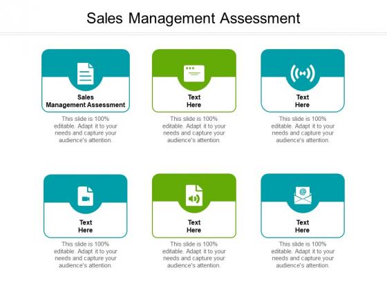 Sales Management Assessment Ppt PowerPoint Presentation Pictures Structure Cpb Pdf