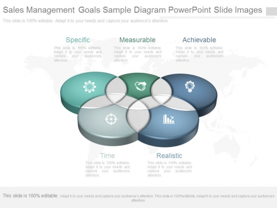 Sales Management Goals Sample Diagram Powerpoint Slide Images