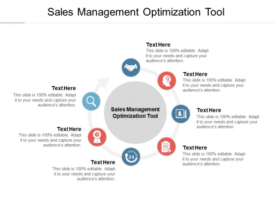 Sales Management Optimization Tool Ppt PowerPoint Presentation Inspiration Example Cpb