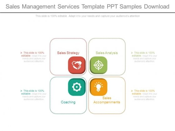 Sales Management Services Template Ppt Samples Download
