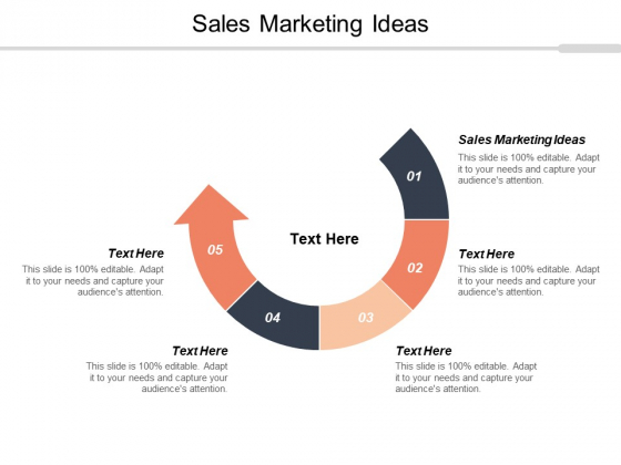 Sales Marketing Ideas Ppt PowerPoint Presentation Summary Background Image Cpb