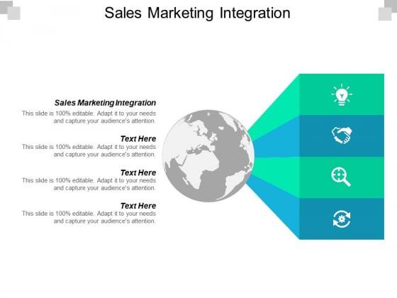 Sales Marketing Integration Ppt PowerPoint Presentation Styles Format Cpb