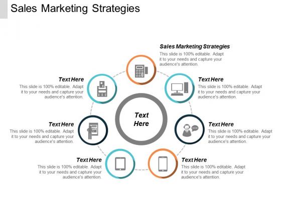Sales Marketing Strategies Ppt PowerPoint Presentation Inspiration Elements Cpb