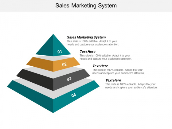 Sales Marketing System Ppt PowerPoint Presentation Icon Vector Cpb
