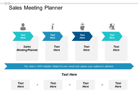 Sales Meeting Planner Ppt PowerPoint Presentation Layouts Infographics Cpb