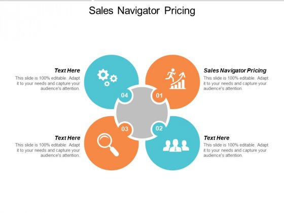 Sales Navigator Pricing Ppt Powerpoint Presentation Layouts Graphics