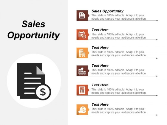 Sales Opportunity Ppt PowerPoint Presentation File Background Designs Cpb