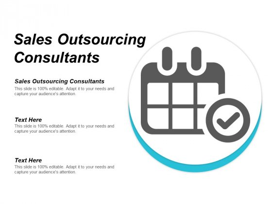 Sales Outsourcing Consultants Ppt PowerPoint Presentation Styles Visuals Cpb