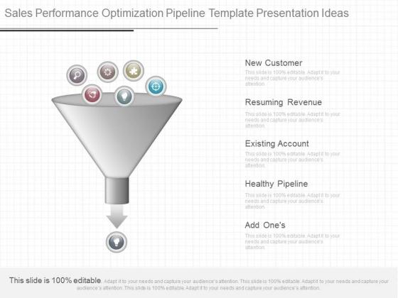Sales Performance Optimization Pipeline Template Presentation Ideas