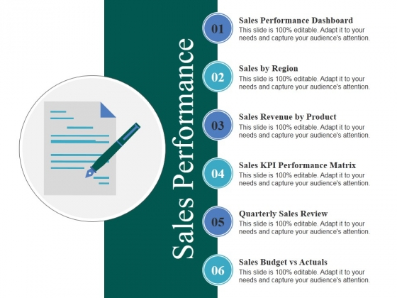Sales Performance Ppt PowerPoint Presentation Infographics Visuals