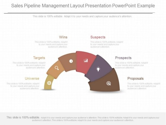 Sales Pipeline Management Layout Presentation Powerpoint Example