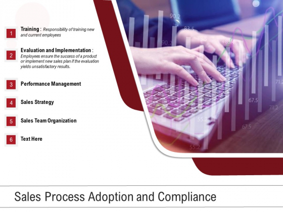Sales Process Adoption And Compliance Ppt PowerPoint Presentation Icon Styles PDF