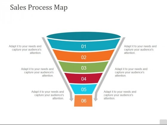 Sales Process Map Template 1 Ppt PowerPoint Presentation Summary Icon