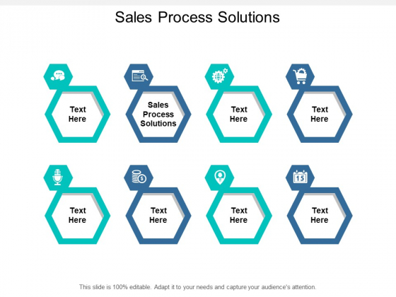 Sales Process Solutions Ppt PowerPoint Presentation Infographics Example Introduction Cpb