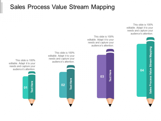 Sales Process Value Stream Mapping Ppt PowerPoint Presentation Layouts Slideshow Cpb