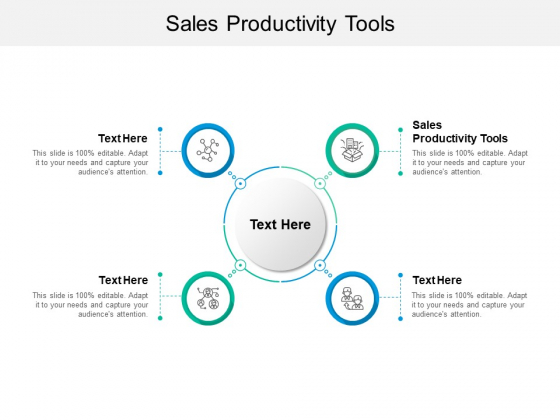 Sales Productivity Tools Ppt PowerPoint Presentation Icon Images Cpb