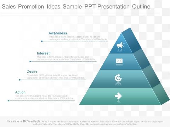 Sales Promotion Ideas Sample Ppt Presentation Outline